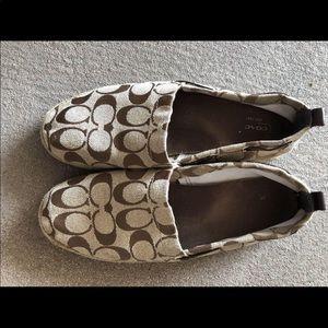 Shoes - Coach espadrille.